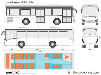 Iveco Crossway LE City 10.8m