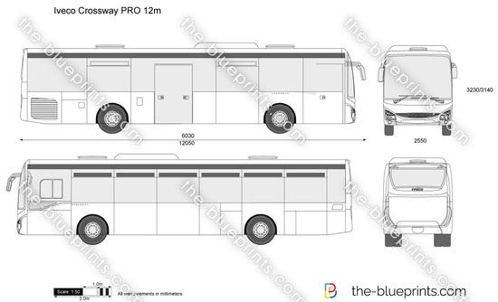 Iveco Crossway PRO 12m
