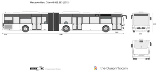 Mercedes-Benz Citaro G 628.283