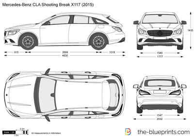 Mercedes-Benz CLA Shooting Break X117