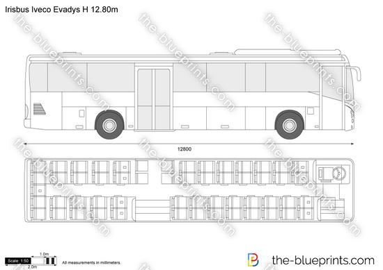 Irisbus Iveco Evadys H 12.80m