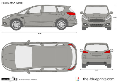 The Blueprints Com Vector Drawing Ford S Max
