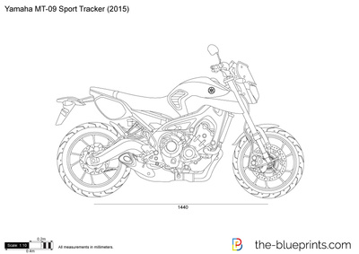 Yamaha MR-09 Sport Tracker
