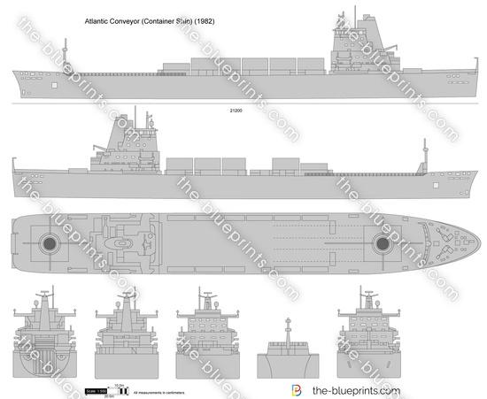Atlantic Conveyor (Container Ship)