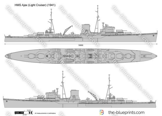 HMS Ajax (Light Cruiser)