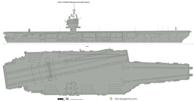 USS CVN-65 Enterprise (Aircraft Carrier)