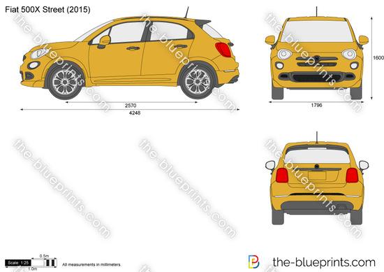 Fiat 500X Street