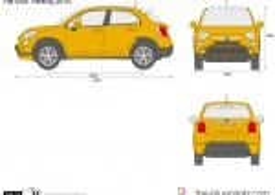 Fiat 500X Trekking (2015)