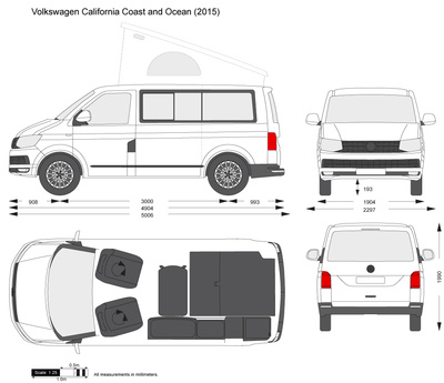 Volkswagen California Coast and Ocean