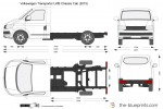 Volkswagen Transporter T6 LWB Chassis Cab (2015)