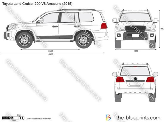 Toyota Land Cruiser 200 V8 Amazone