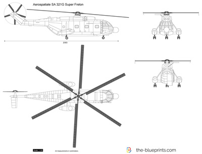 Aerospatiale SA 321G Super Frelon