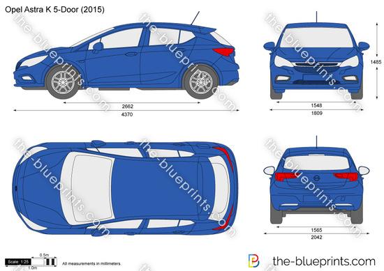 Opel Astra K 5-Door