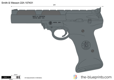 Smith & Wesson 22A 107431
