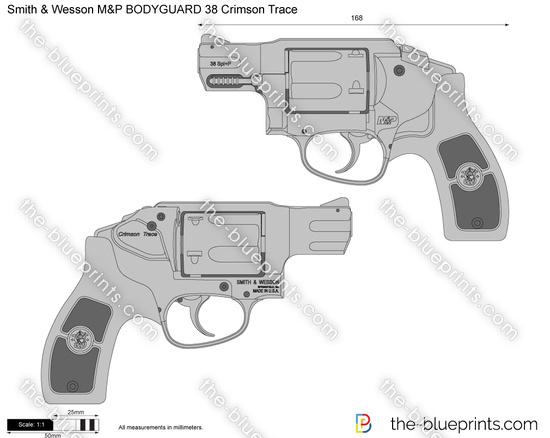 Smith & Wesson M&P BODYGUARD 38 Crimson Trace
