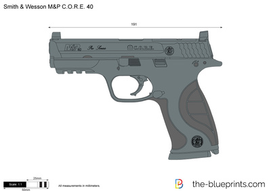 Smith & Wesson M&P C.O.R.E. 40