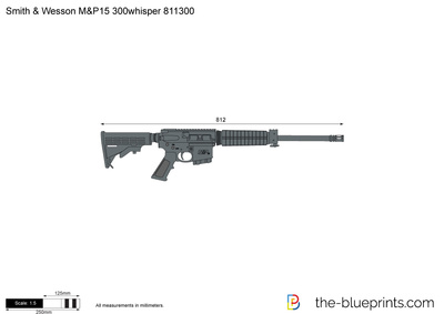 Smith & Wesson M&P15 300whisper 811300