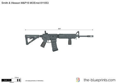 Smith & Wesson M&P15 MOEmid 811053