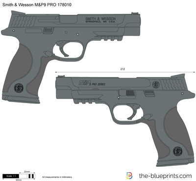 Smith & Wesson M&P9 PRO 178010