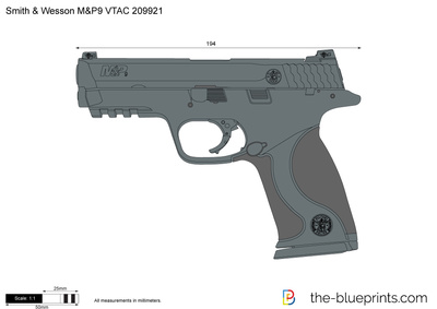 Smith & Wesson M&P9 VTAC 209921