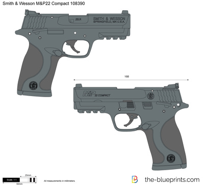 Smith & Wesson M&P22 Compact 108390