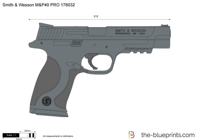 Smith & Wesson M&P40 PRO 178032