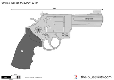 Smith & Wesson M329PD 163414