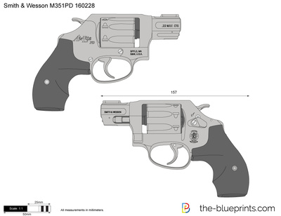 Smith & Wesson M351PD 160228