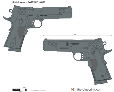 Smith & Wesson SW1911CT 108495