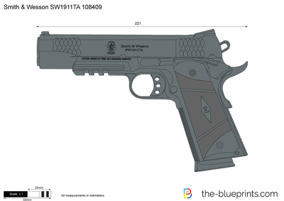 Smith & Wesson SW1911TA 108409