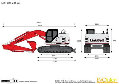 Link-Belt 235-X3