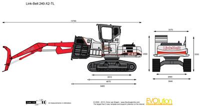 Link-Belt 240-X2-TL