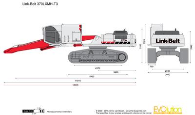 Link-Belt 370LXMH-T3