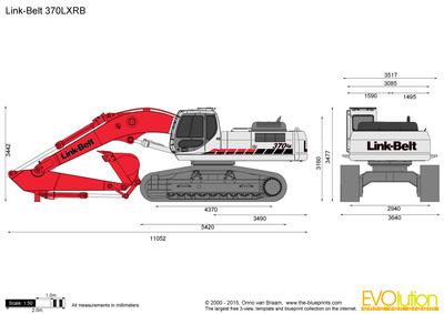 Link-Belt 370LXRB