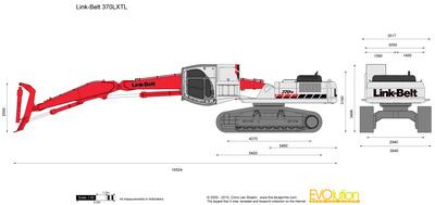 Link-Belt 370LXTL