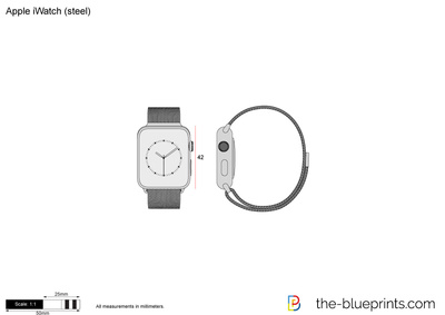 Apple iWatch (steel)