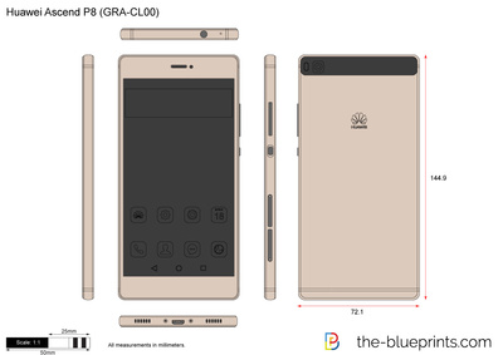 Huawei Ascend P8 (GRA-CL00)