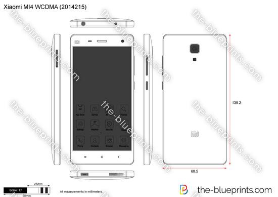 Xiaomi MI4 WCDMA (2014215)
