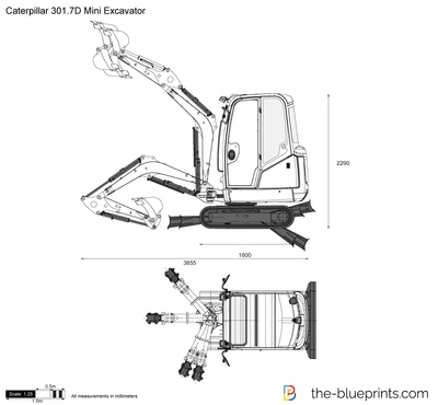 Caterpillar 301.7D Mini Excavator