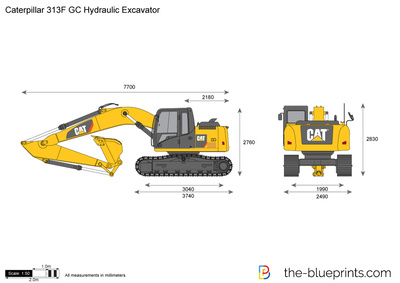 Caterpillar 313F GC Hydraulic Excavator