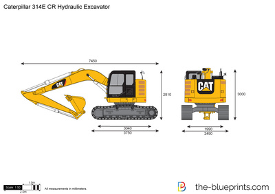 Caterpillar 314E CR Hydraulic Excavator