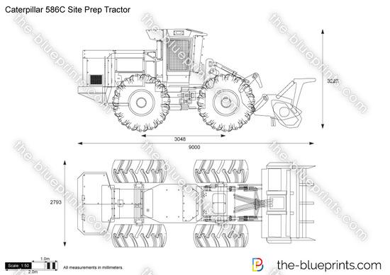 Caterpillar 586C Site Prep Tractor