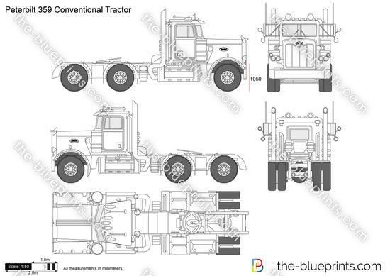Peterbilt 359 Conventional Tractor
