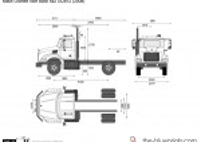 Mack Granite Axle Back 4x2 GU812 (2008)