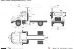 Mack Granite Axle Back 4x2 GU812 (2010)