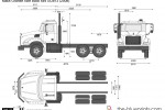 Mack Granite Axle Back 6x4 GU813 (2008)