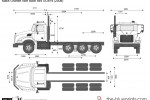 Mack Granite Axle Back 8x4 GU814 (2008)