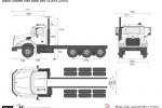 Mack Granite Axle Back 8x4 GU814 (2010)