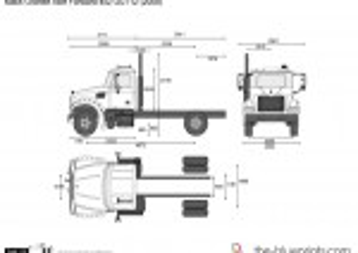 Mack Granite Axle Forward 4x2 GU712 (2008)