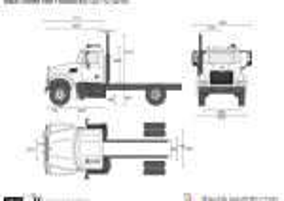 Mack Granite Axle Forward 4x2 GU712 (2010)